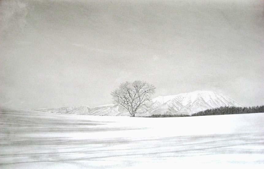 一本桜~冬~