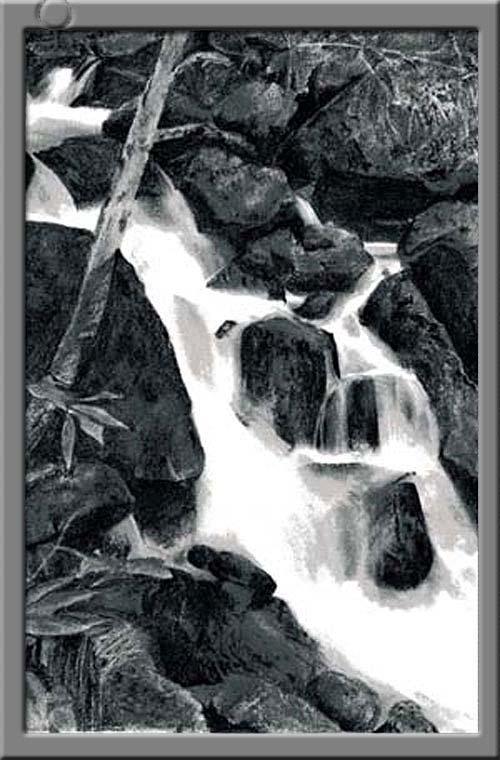寺沢高原の滝