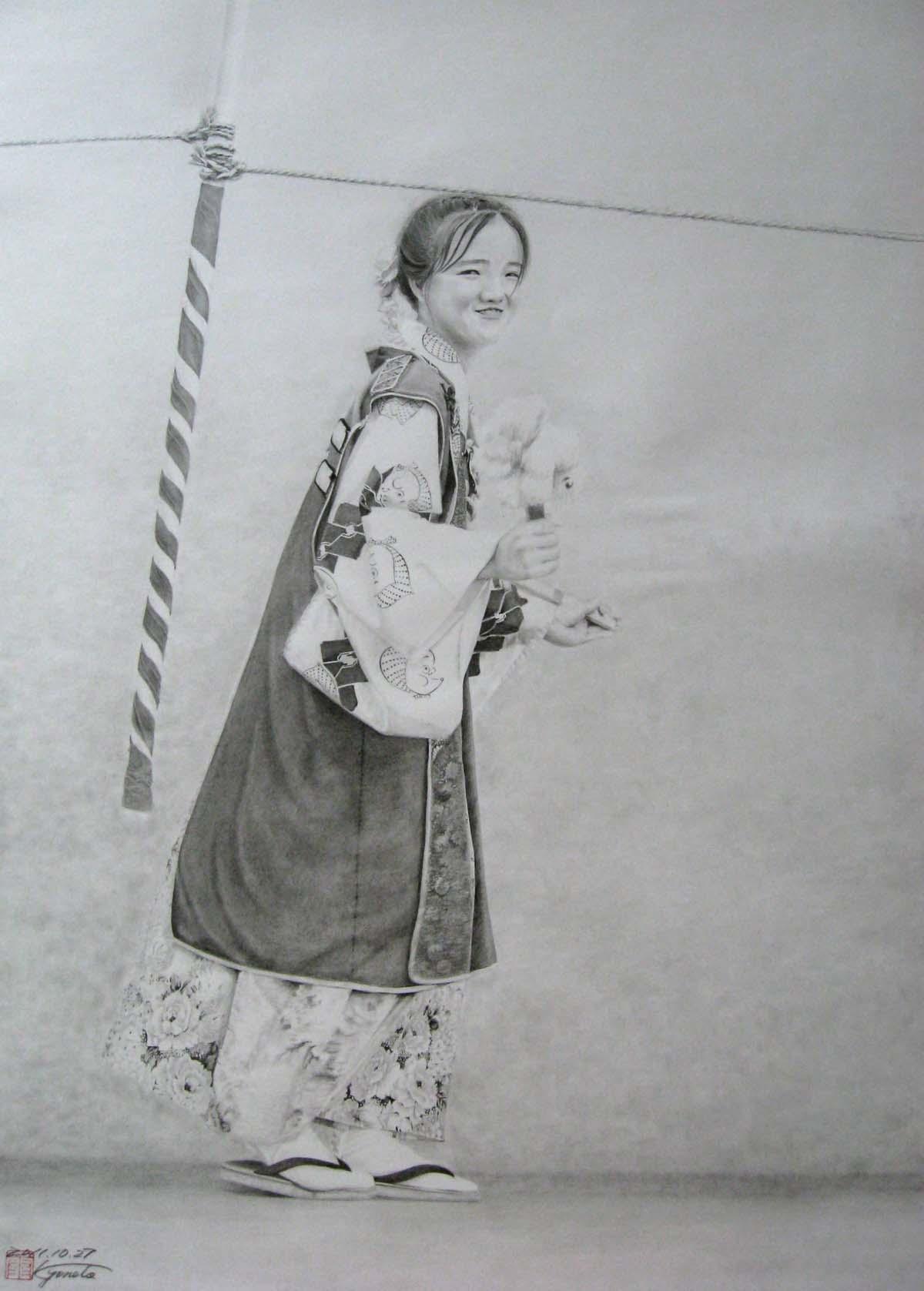 祭りの少女