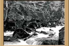 荒川高原の清流