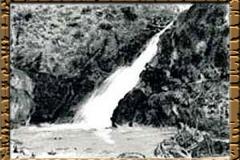 達曽部椛川目のお滝さんの滝
